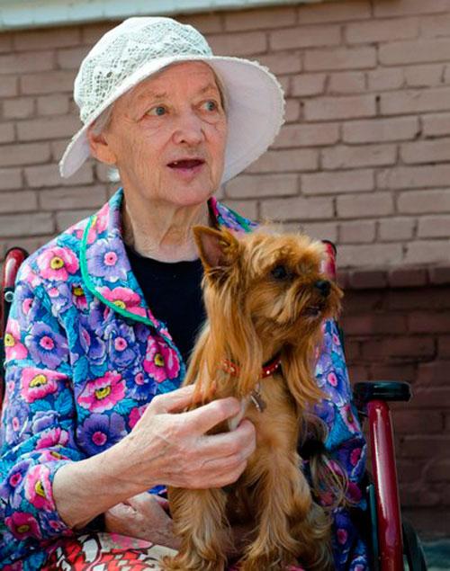Канистерапия с пожилыми
