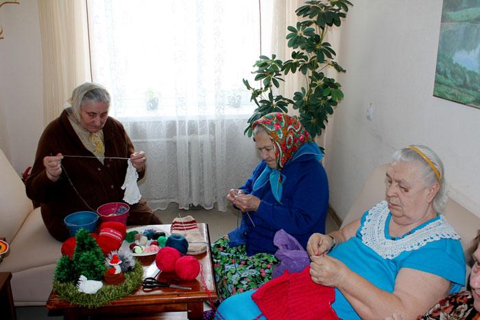 Вязание, как трудотерапия