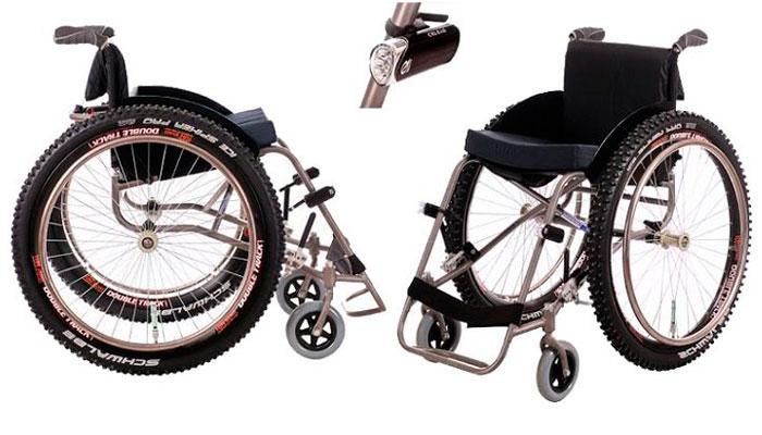 Инвалидная коляска активного типа Пикник «Экстрим»