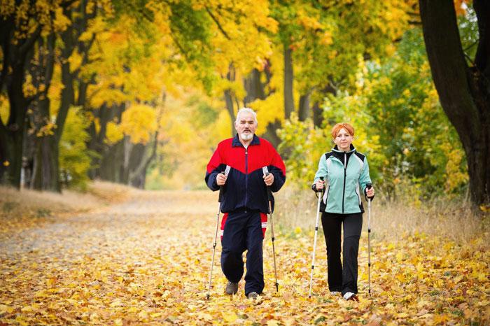 Пешие прогулки после инфаркта
