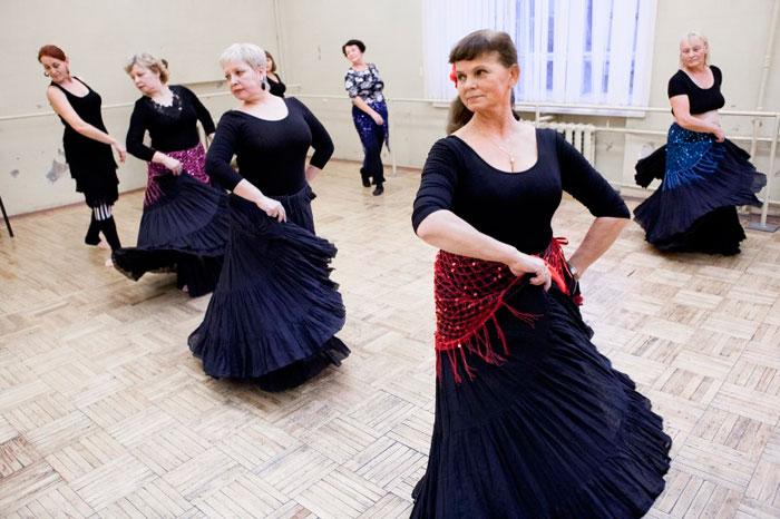 Латинские танцы пожилых людей