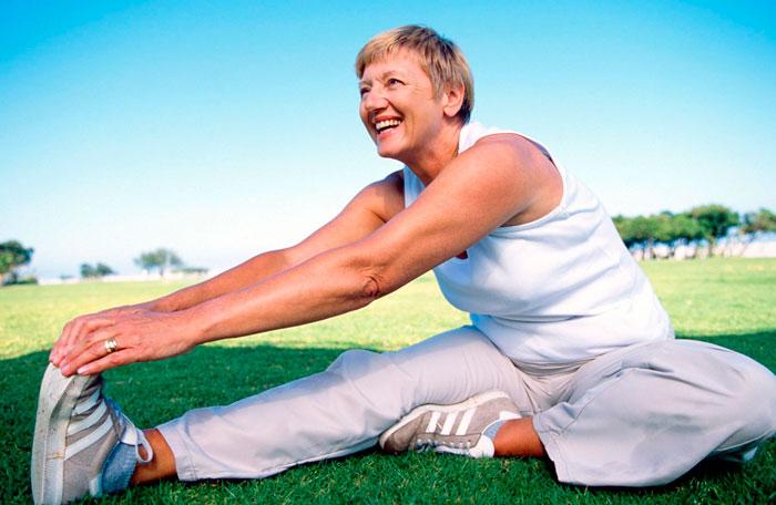Упражнение из йоги