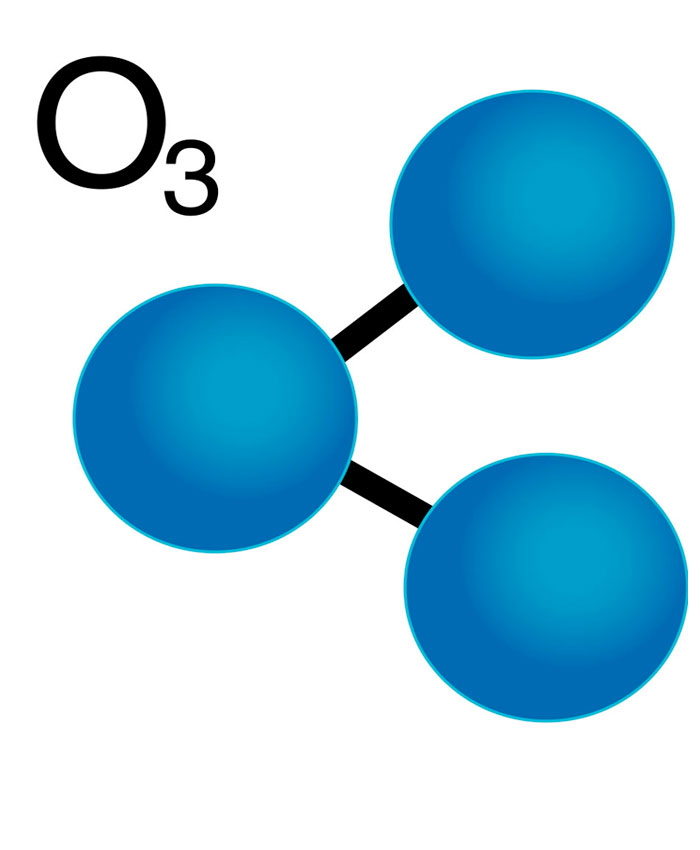 Молекула озона