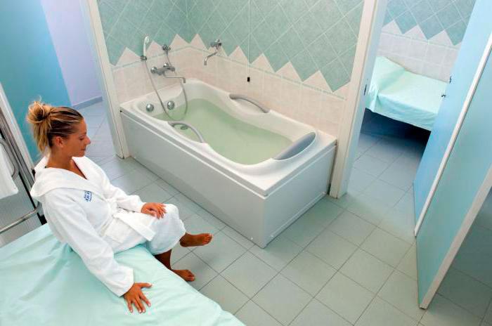Подготовка к бальнеотерапии
