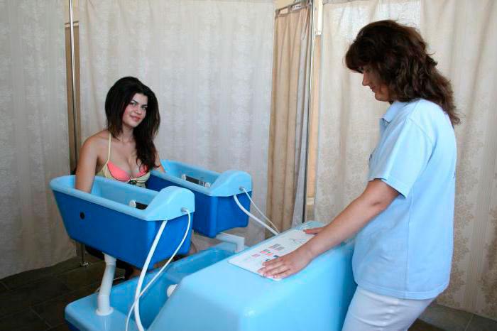 Бальнеотерапия рук