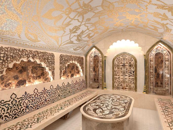 Разновидность турецкой бани