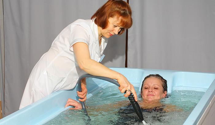 Процедура лечения радоном