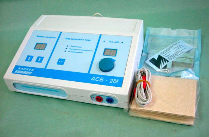 Аппарат для флюктуаризации АСБ-2М