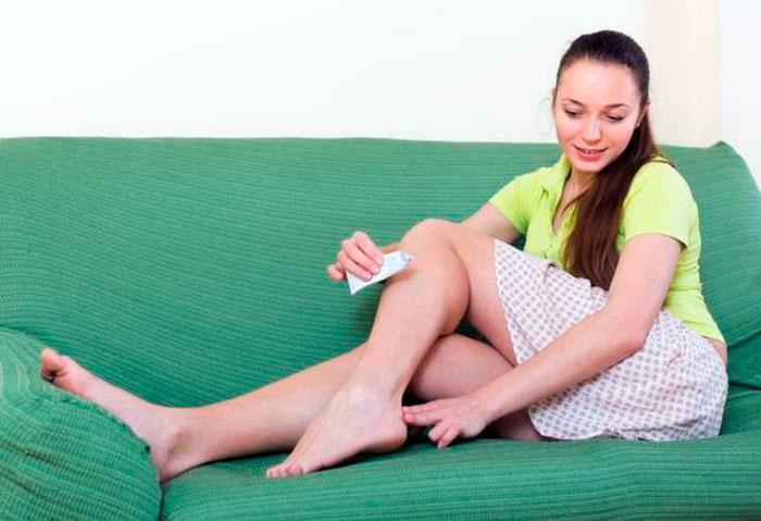 Медикаментозное лечение травмы пятки