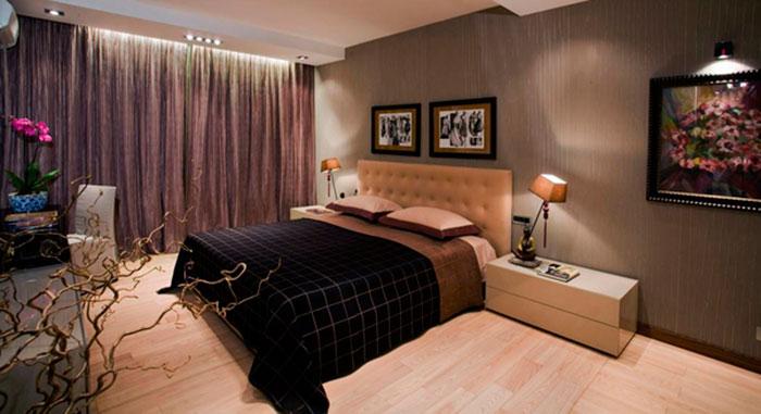 Спальная комната пожилых людей