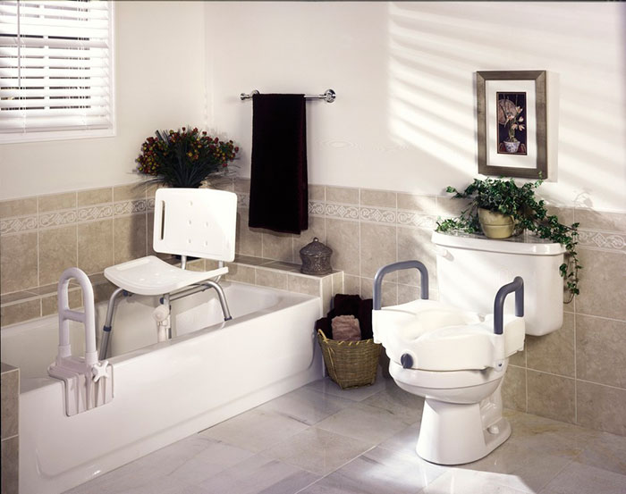 Ванная комната для пожилых