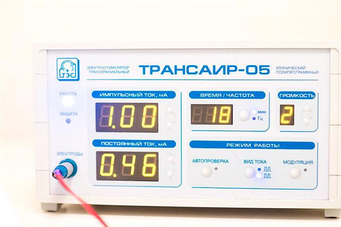 Аппарат для ТЭС-терапии Трансаир-05