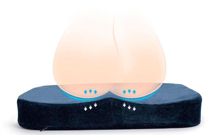 Ортопедическая подушка для лечения перелома копчика