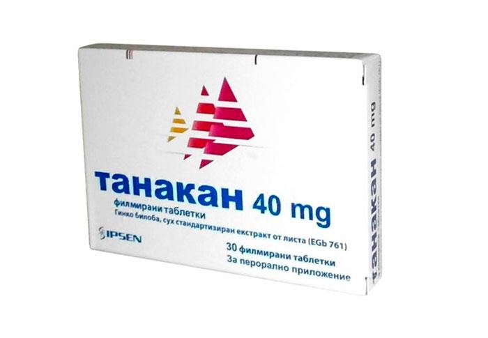 Танакан - для поддержания мозговой активности