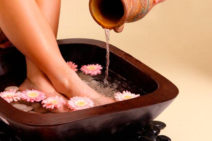 Лечебные ванночки для снятия отечности ног