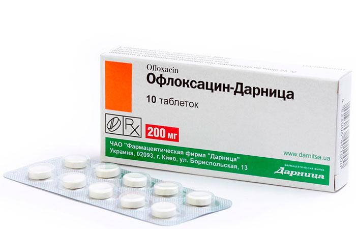 Офлоксацин - для лечения слезотечения