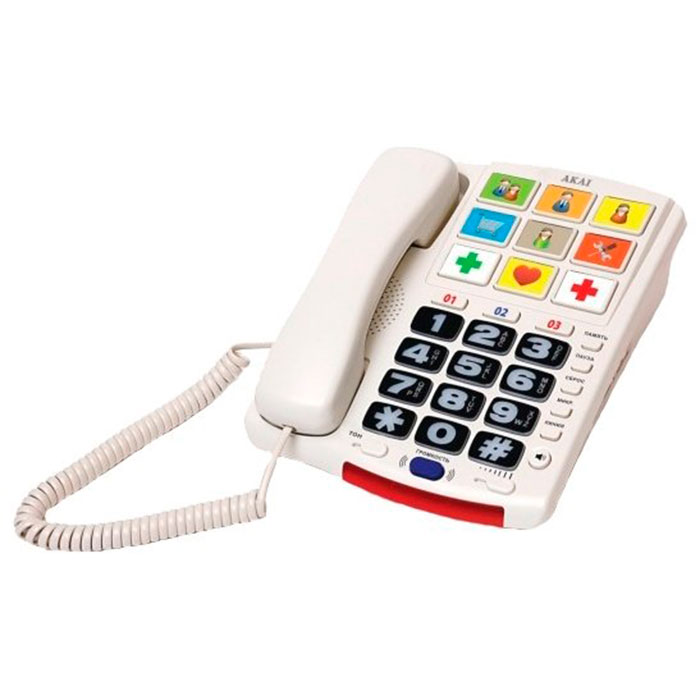 Стационарный телефон AKAI AT-S537