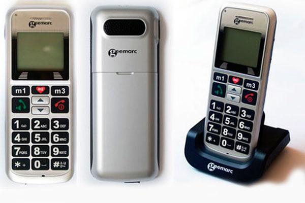 Geemarc Clearsound CL8200 - один из самых громких телефонов в мире