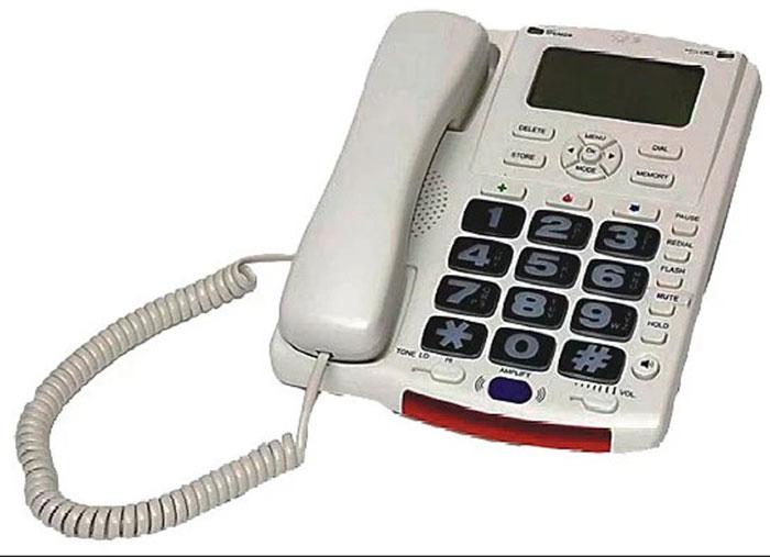 Стационарный телефон для слабослышащих Слух ТА-537