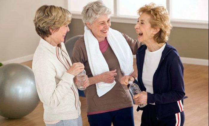 Физические нагрузки способствуют здоровью и бодрости духа