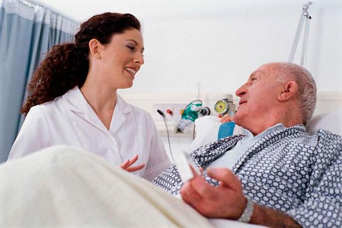 Заботливая сиделка - залог быстрого выздоровления