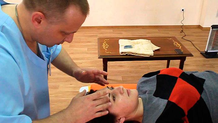 Процедура бесконтактного массажа