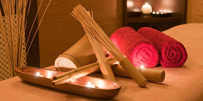 Расслабленная обстановка для креольского массажа