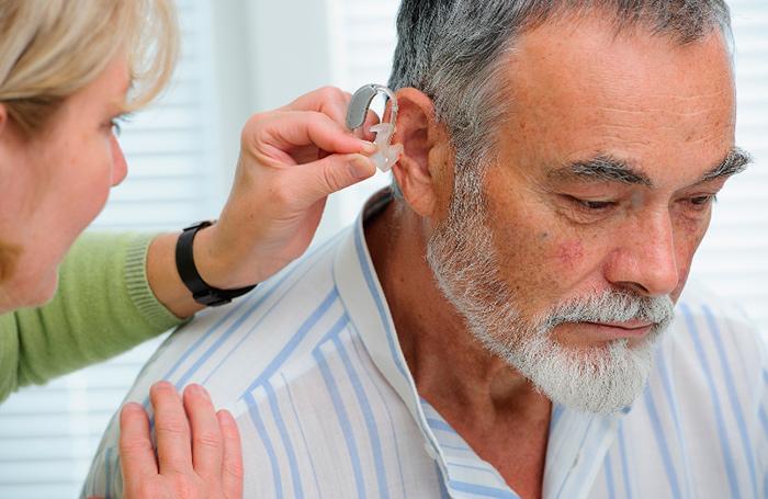 Слуховой аппарат - для компенсации возрастной тугоухости