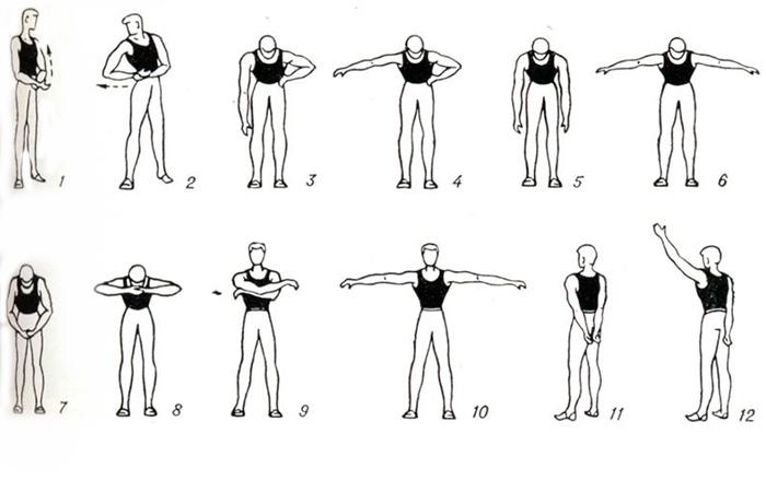 Упражнения при артрозе суставов