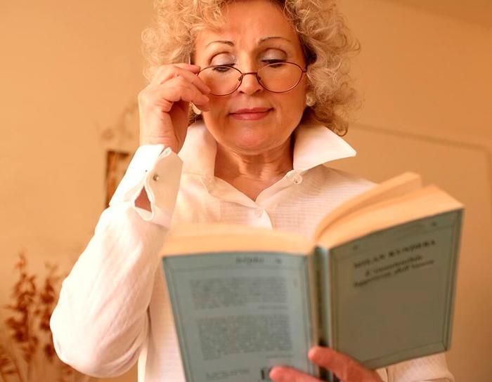 Затрудненное чтение при близорукости
