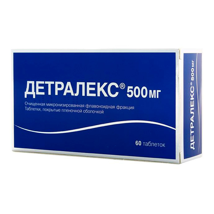 Детралекс для лечения варикоза вен в пожилом возрасте