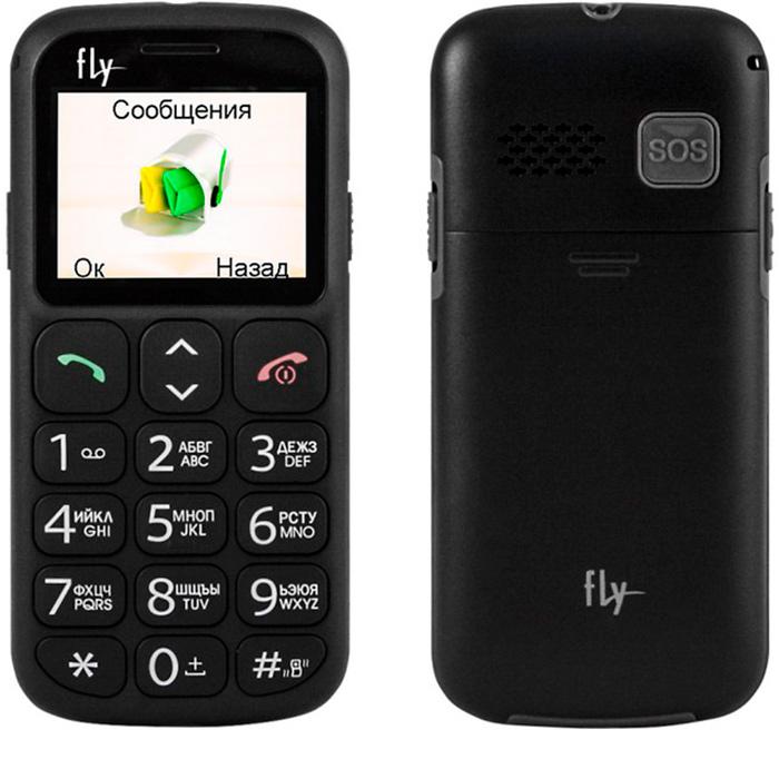 Мобильный телефон для пожилых Fly Ezzy 7