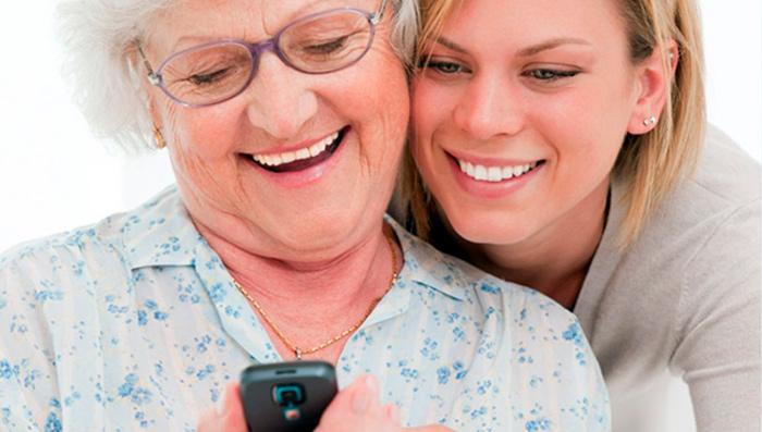 Выбор бабушкофона - ответственный момент для родных пожилых людей