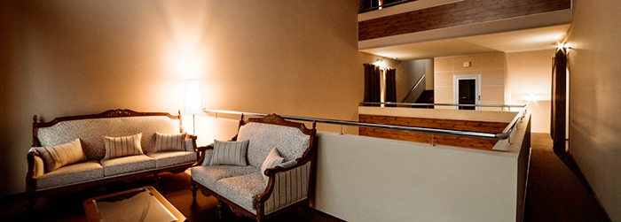Обстановка в доме престарелых премиум класса «Oldman House» (Химки)