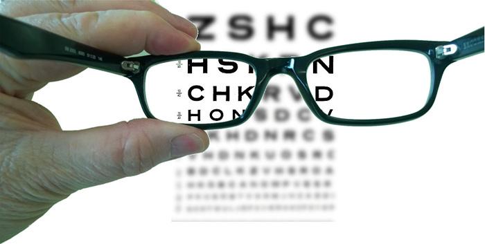Тест для определения уровня зрения человека