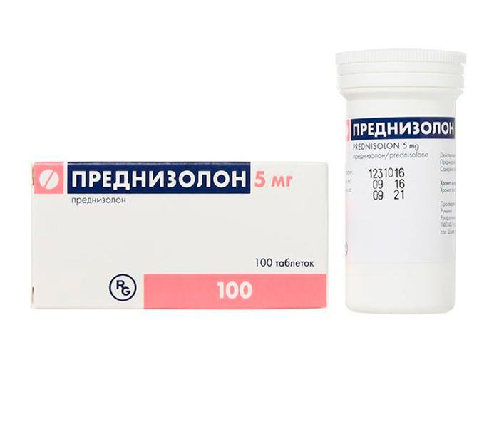 Преднизолон - гормональный препарат для лечения застойного простатита
