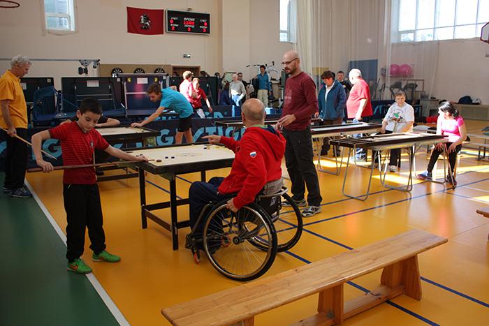 Групповые занятия по программе индивидуальной реабилитации инвалидов