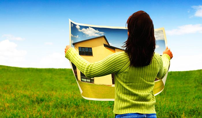План постройки дома на предоставленном участки земли