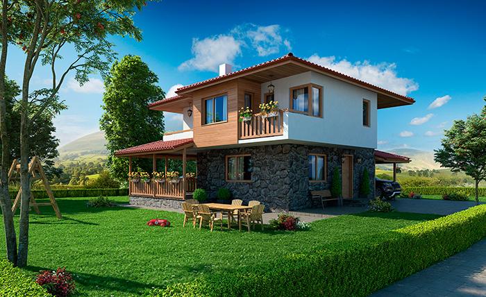 Частный дом в Болгарии для пенсионеров