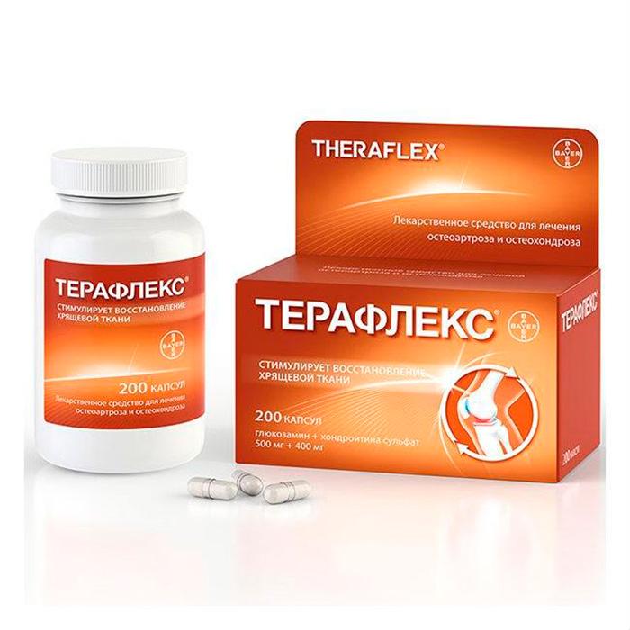Хондропротектор Терафлекс для эффективного лечения артроза колена