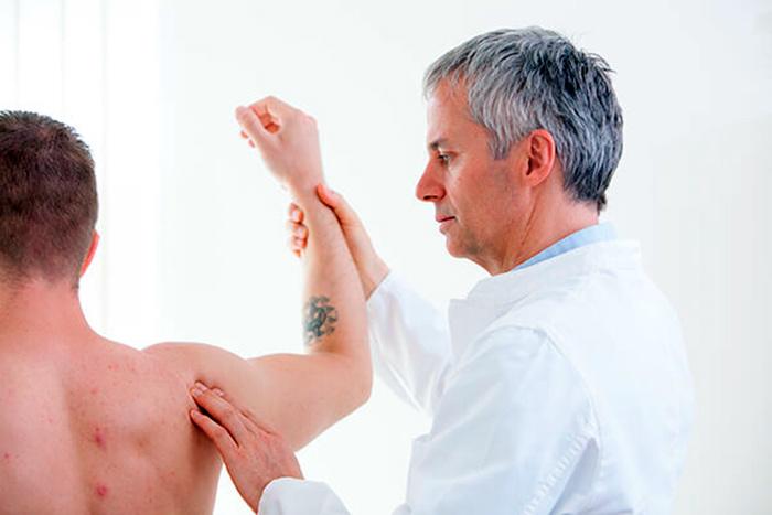 Диагностика артроза плечевого сустава