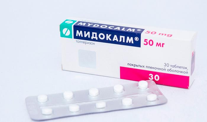 Мидокалм для медикаментозного лечения артроза суставов