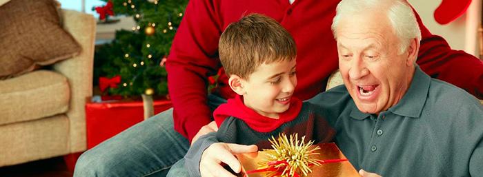Подарок от внуков для дедушки на юбилей всегда будет приятен