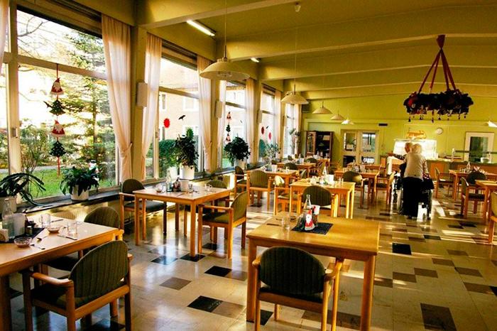 Столовая в частных домах престарелых в Германии