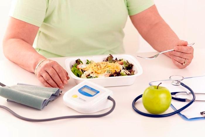 Процесс питания при наличии диабета