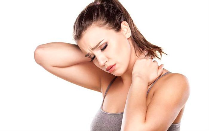 Пульсирующая боль в области шеи при миозите