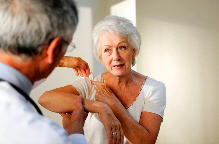 Диагностика тендинита плечевого сустава