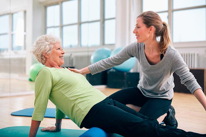 Упражнения на позднем этапе восстановления после эндопротезирования тазобедренного сустава