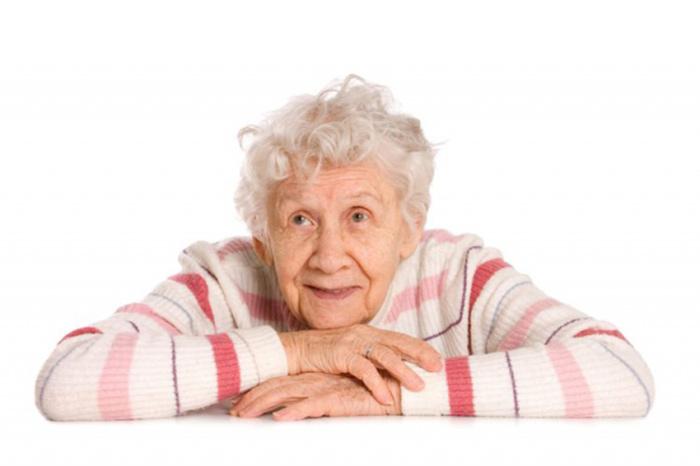 Снижение интеллектуальных способностей один из симптомов старческой астении