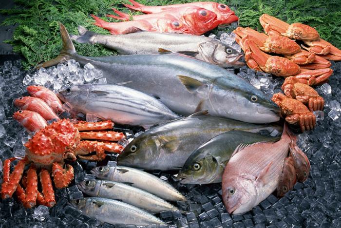 Морская рыба - очень полезна для сосудов головного мозга